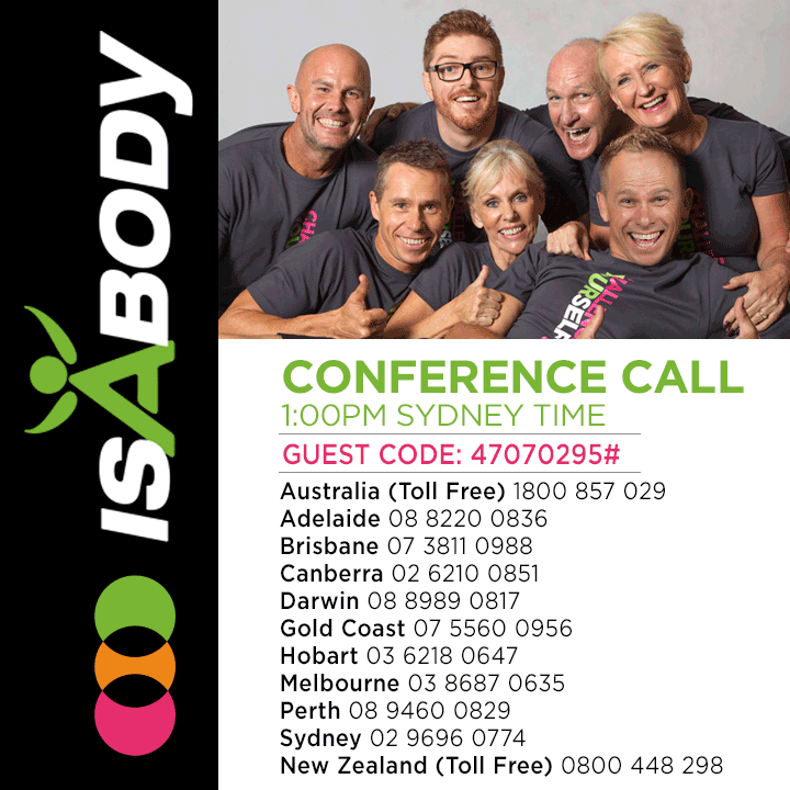 720 X IsaBody Challenge Conference Call 2015