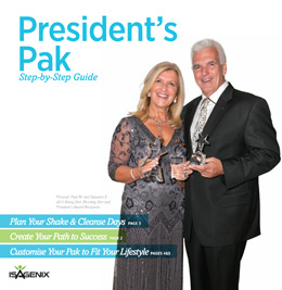 isagenix presidents pak step by stpe guide